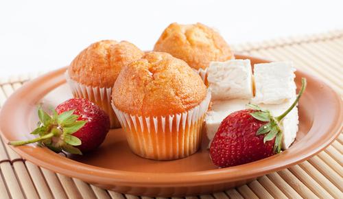tvarohove muffiny