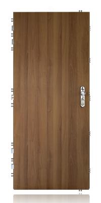 Bezpečnostní dveře s trezorovým mechanismem