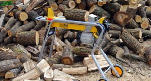 Štípačka na dřevo domácí výroby